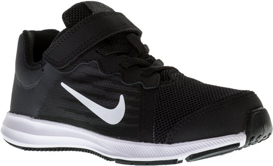 Nike Downshifter 8 (PSV) Sportschoenen - Maat 27.5 - Unisex - zwart/wit