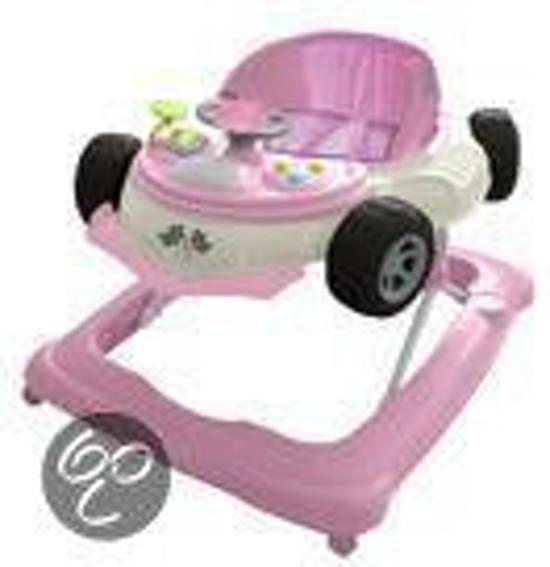 Cabino - Loopstoel Auto - Roze