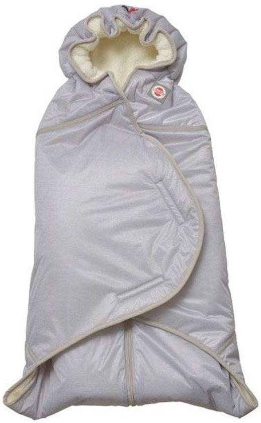 Lodger Wrapper Clever wikkeldeken Fleece Sport - Grijs