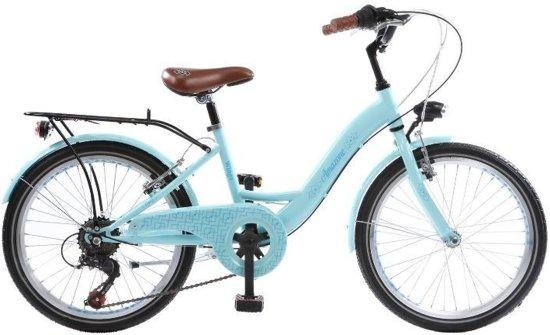 Licht Voor Fiets : Bol.com wings amazone fiets meisjes licht blauw 24 inch