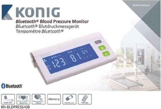 König KN-BLDPRESS40B Pols Automatisch bloeddrukmeter