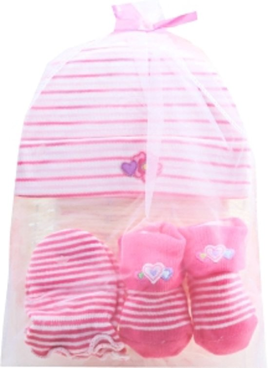 Baby - Geschenkset - 3-delig set
