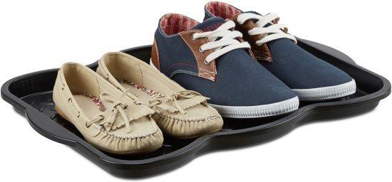 b1d83982d16 Schoenenmat zwart – Afdruipmat schoenen – schoen lekbak – 49 x 35 cm -  Geschikt voor