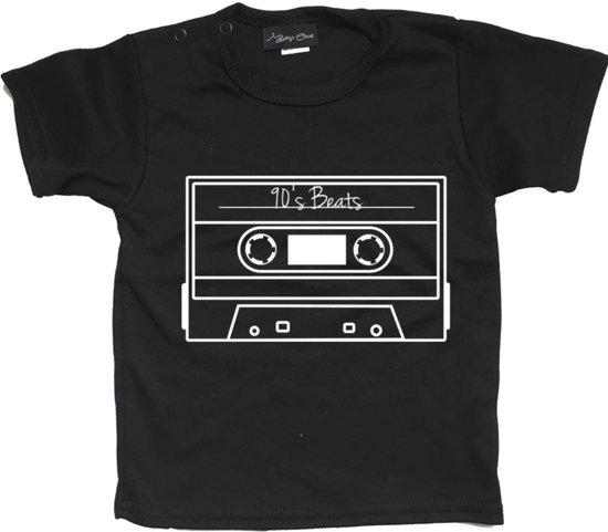 Unisex T-shirt Trouble maker zwart