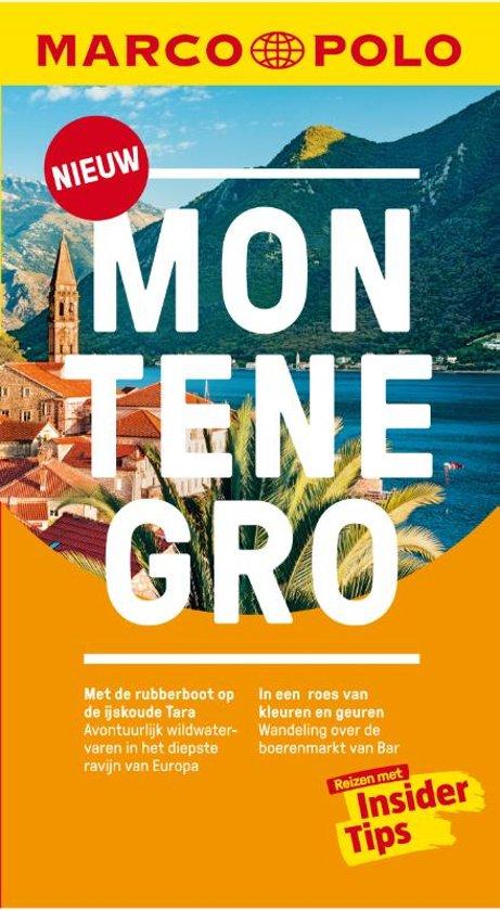 Reisgids: Marco Polo Montenegro cover