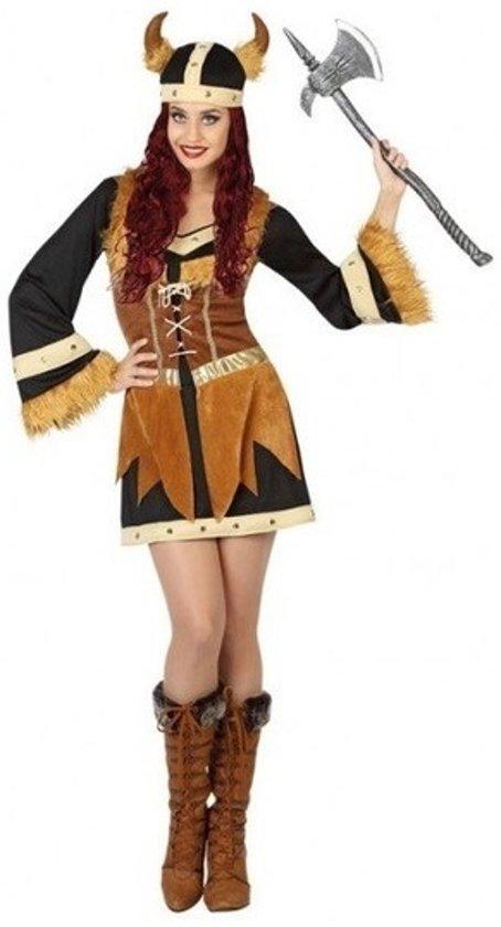 Carnavalskleding Xl Dames.Bol Com Viking Verkleed Jurk Set Dames Carnavalskleding