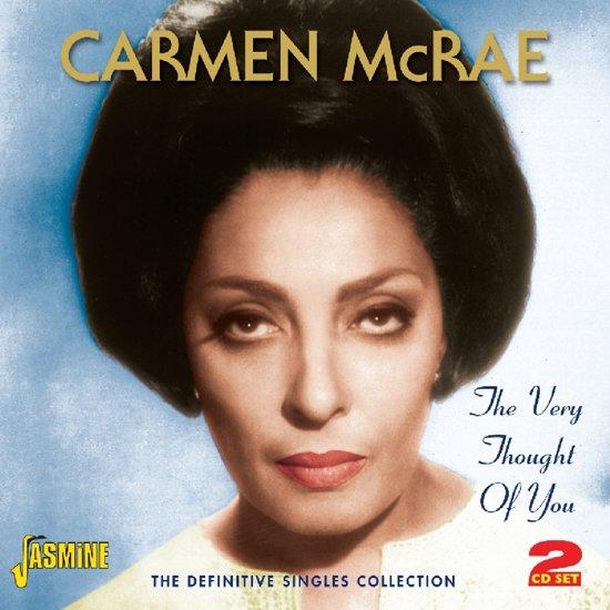 Bolcom Carmen Mcrae The Very Thought Of You Definitive Carmen