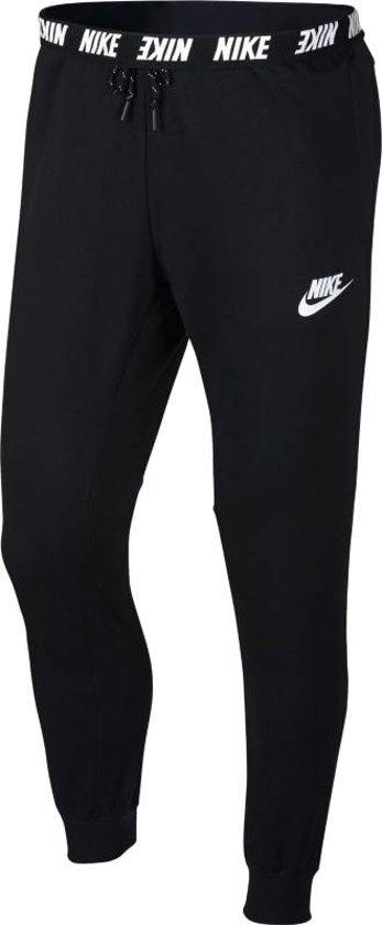 7d27984bfd5 Nike Sportswear Advance 15 Jogger Fleece Sportbroek Heren - Zwart - wit
