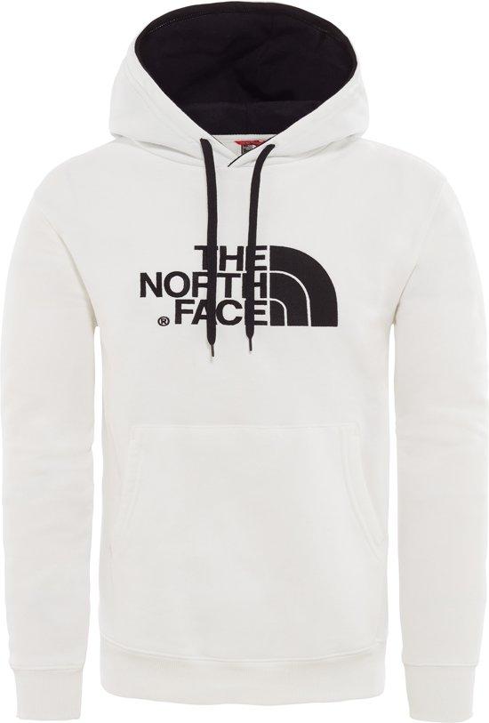 cdb4dc842 The North Face Drew Peak Pullover Hoodie Trui Heren - Tnf White / Tnf Black