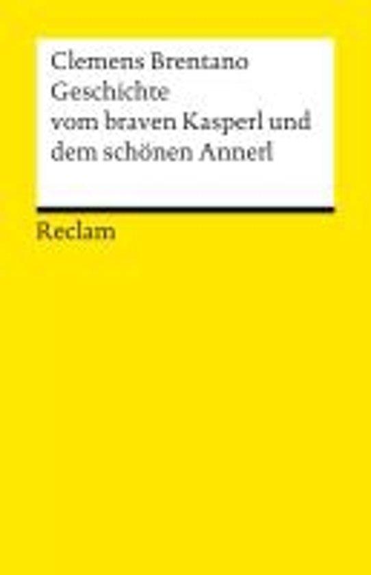 cover Geschichte vom braven Kasperl und dem schönen Annerl