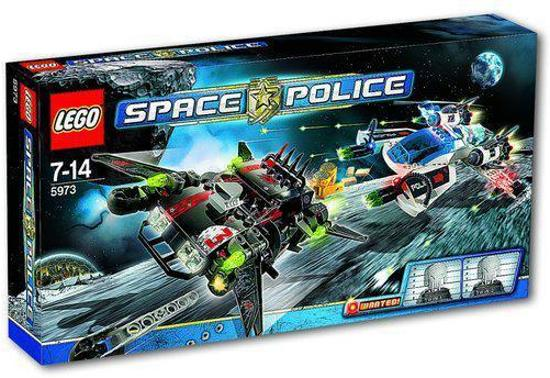 LEGO Space Police Hyperspeed Achtervolging - 5973