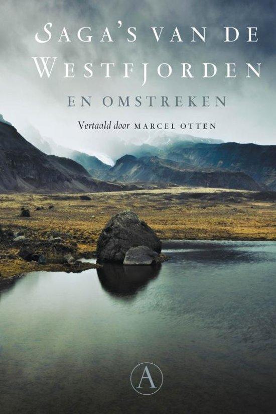Boek cover Sagas van de Westfjorden en omstreken van Anoniem (Paperback)
