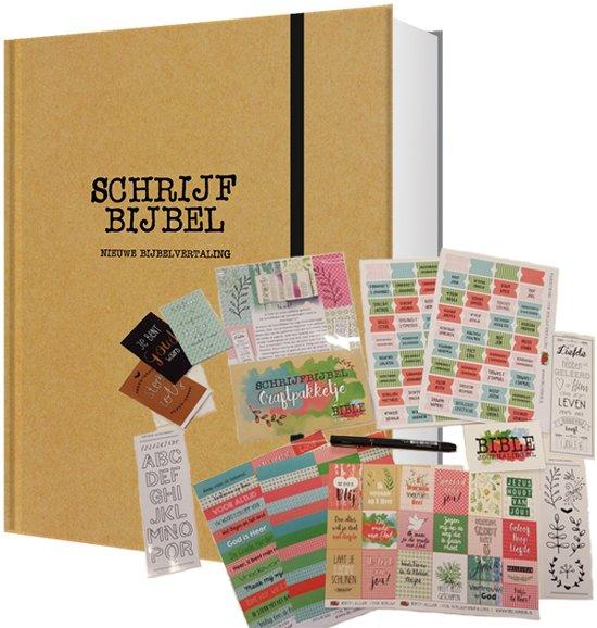 Schrijfbijbel en Bible Journaling-pakket