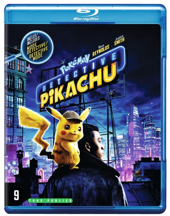 DVD cover van Pokémon Detective Pikachu (Blu-ray)