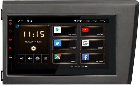 Fonkelnieuw bol.com | VOLVO S60, Volvo V70, XC70 Android 8.1 navigatie - 7 BF-07