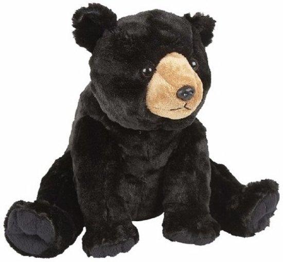 Beste bol.com | Pluche zwarte beer knuffel 30 cm, Merkloos | Speelgoed UX-28