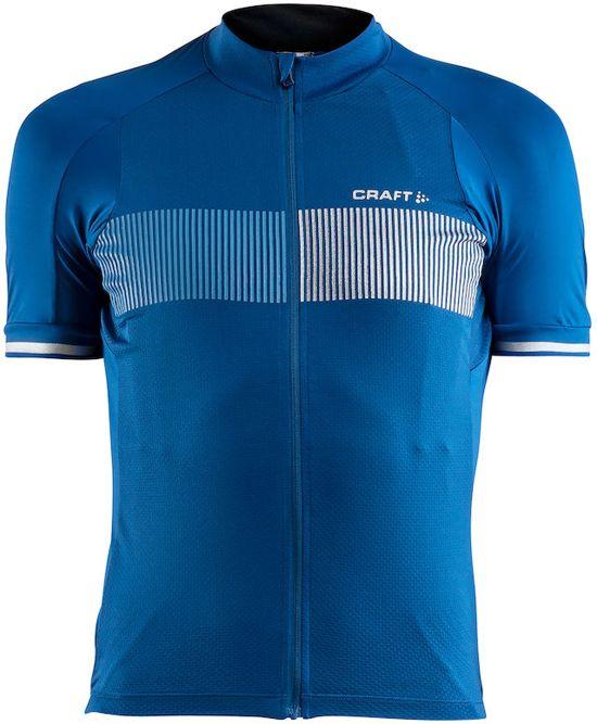 CRAFT Fietsshirt Verve Glow Jersey - Fietsshirt - Heren - True Blue/Coast