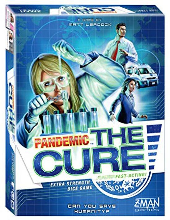Pandemic The Cure - Dobbelspel - Engelstalig