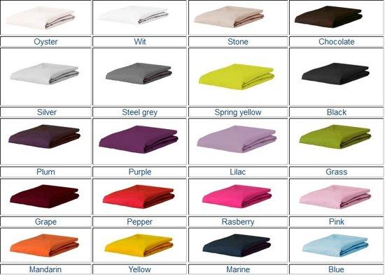 Essenza Hoeslaken Premium Jersey Eenpersoons -Color : Cream