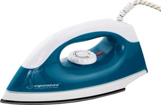 Esperanza Reisstrijkijzer - Lichtgewicht, Compact, Krachtige 1200 Watt Vermogen, Antikleefzool - Strijkijzer voor Op Reis en Thuis