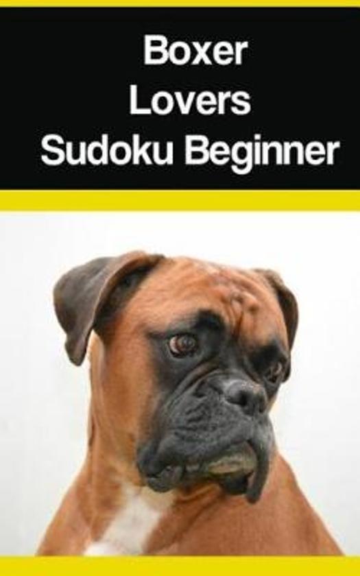 Boxer Lovers Sudoku Beginner