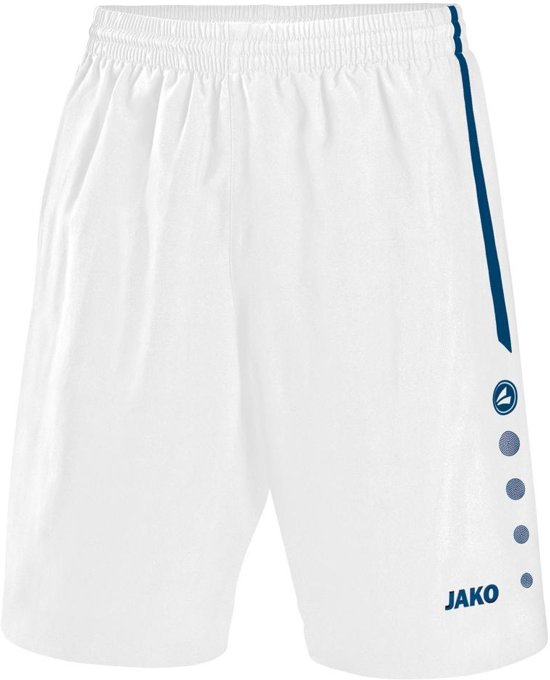 Jako Short Performance - Sportbroek -  Heren - Maat XXXL - Wit;Navy
