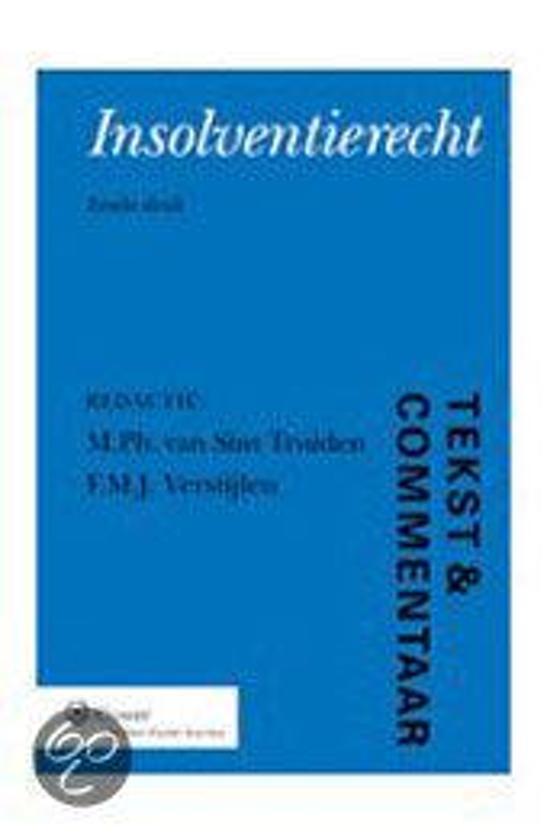 Geliefde bol.com | Insolventierecht 1 - Faillietverklaring | 9789013077094  BT-32