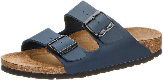 Birkenstock Arizona - Slippers - Heren - Donkerblauw mat - Maat 45