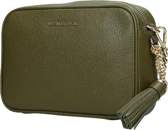 Michael Kors Ginny Camera Bag crossbody tas M olive