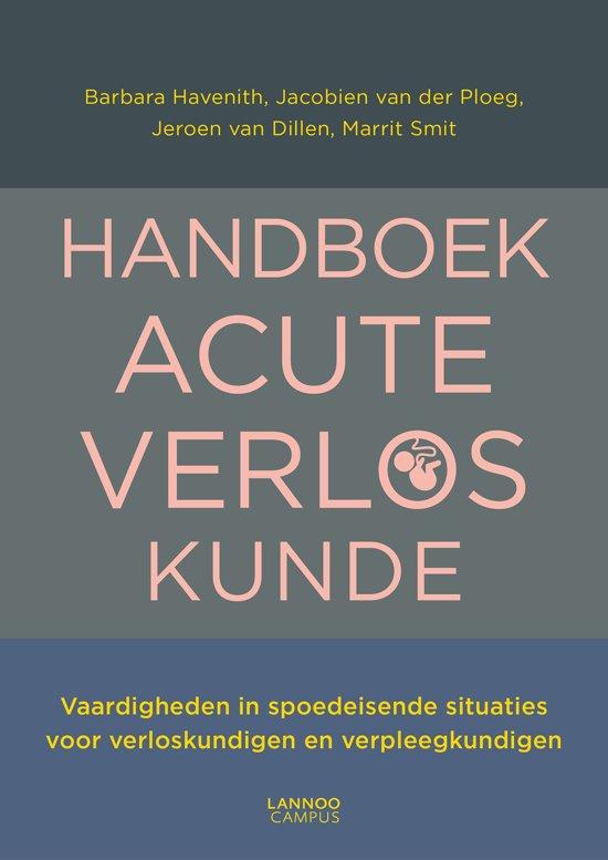 Boek cover Handboek acute verloskunde van Barbara Havenith (Paperback)