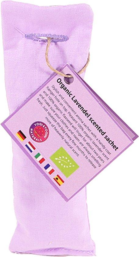 Lavendel geurzakje biologisch violet (5.5x17 cm)