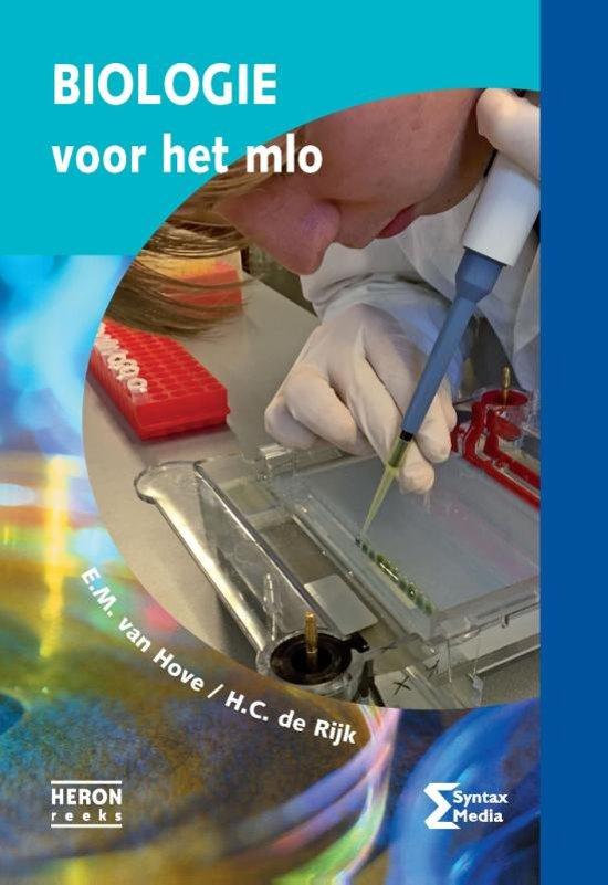 Boek cover Heron-reeks - Biologie voor het MLO van E.M. van Hove (Paperback)
