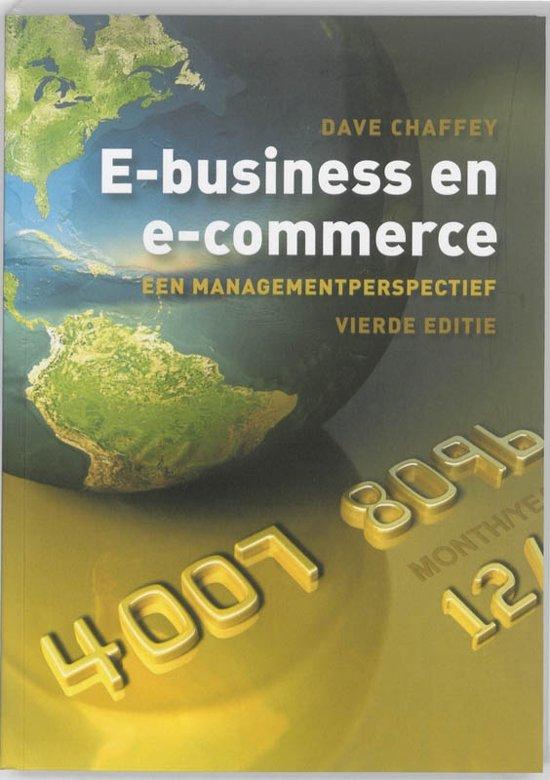 E business en E commerce