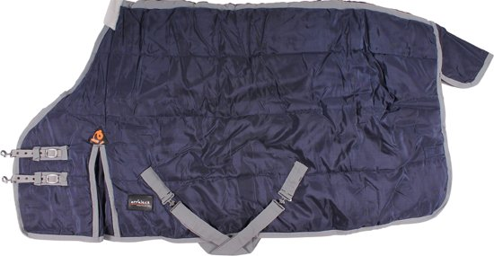 Epplejeck Deken Cameron 100gr - Dark Blue-grey - 185cm
