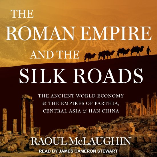Boek cover The Roman Empire and the Silk Routes van Raoul Mclaughlin (Onbekend)