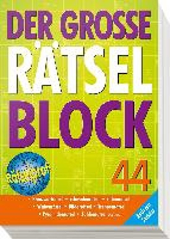 Der große Rätselblock 44