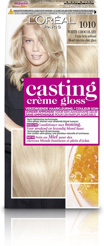 L'Oréal Paris Casting Crème Gloss Haarverf - 1010 Extra Licht Asblond