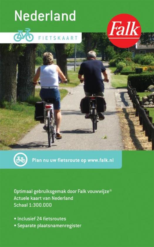 Fietskaart Nederland - Falk pdf epub