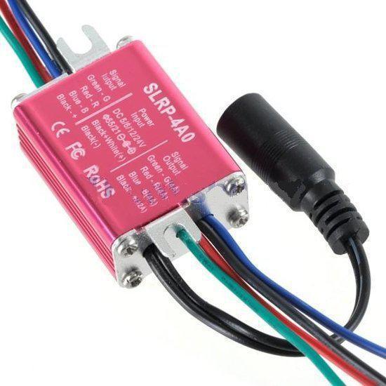 RGB repeater / versterker tbv LED strip