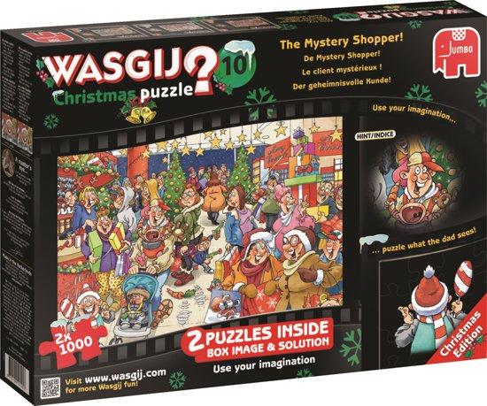 Wasgij 10 Kerst - Puzzel - 2 x 1000 Stukjes