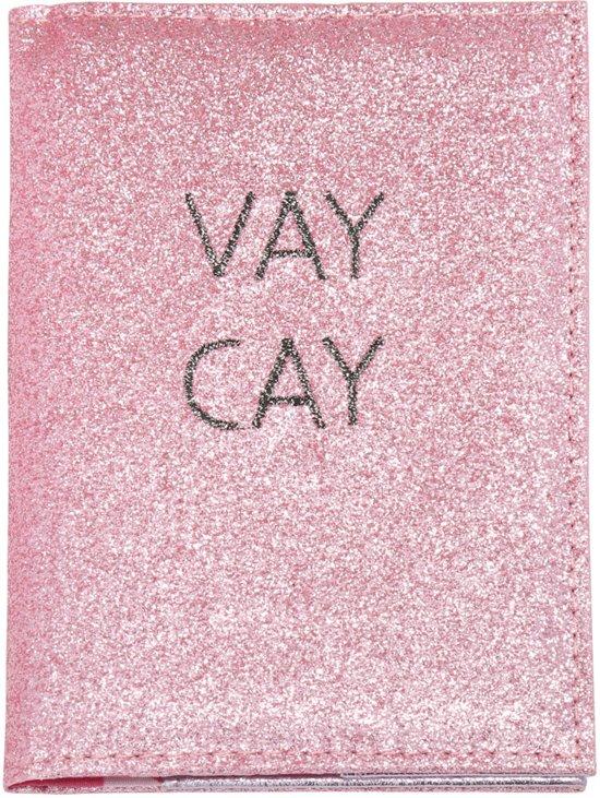 Paspoorthoesje / paspoorthouder | VayCay | Roze | Glitters | Yfyjewels