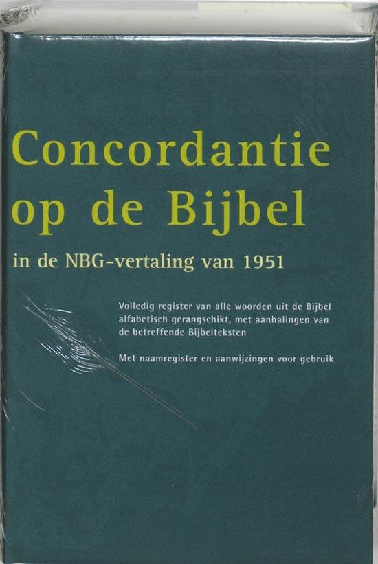 Concordantie op de Bijbel in de nieuwe vertaling van het Nederlands Bijbelgenootschap