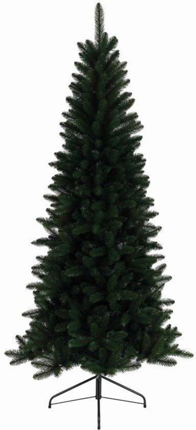 Everlands Lodge Slim Pine kunstkerstboom 180 - smalle kerstboom - zonder verlichting
