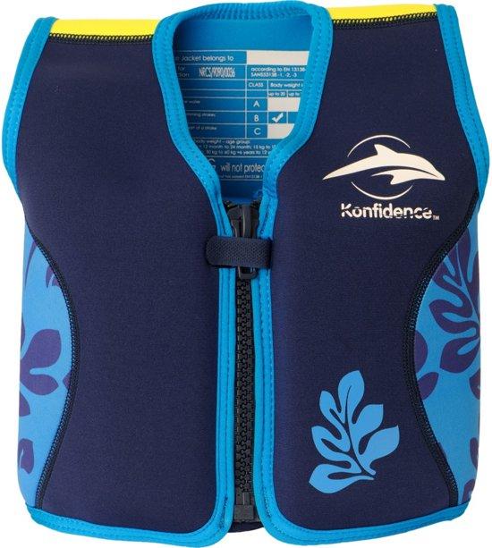 Konfidence - Zwemvest/Drijfvest kind - Blauw - 1,5-3 jaar / 12-20 kg
