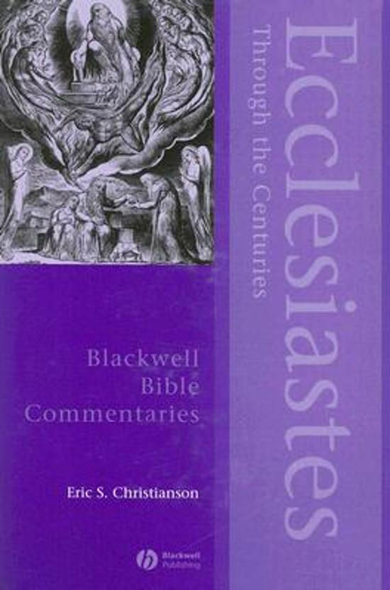 Ecclesiastes Through the Centuries