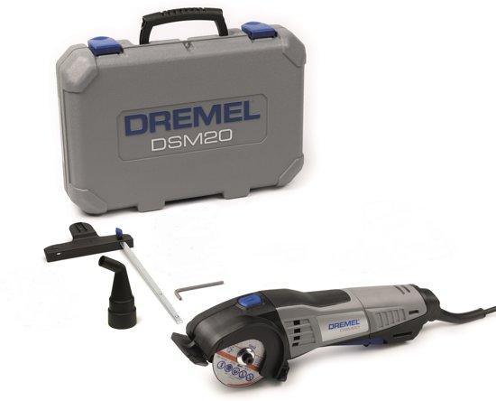 Dremel�DSM20 zaagmachine - 710 Watt - Inclusief 3 accessoires - Met koffer