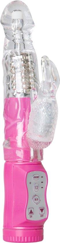 EasyToys Bunny Vibrator - Waterbestendige Clitoris & G-Spot Stimulator - Roze