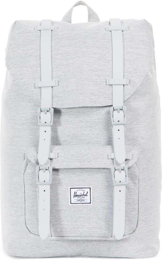 ad22ff7ef0d Herschel Supply Co. Little America Mid-Volume Rugzak - Light Grey Crosshatch  Grey