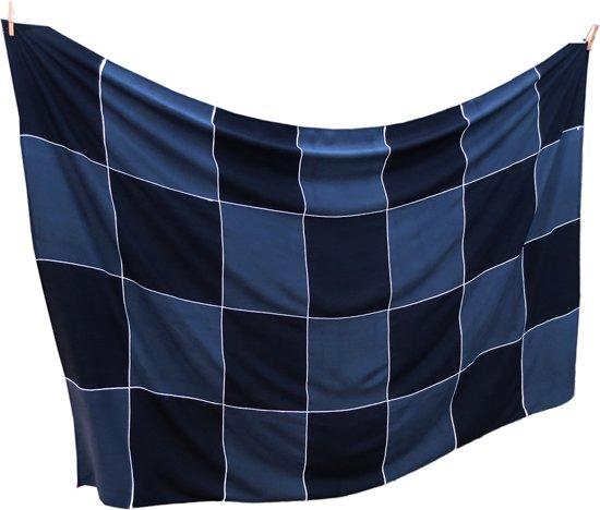 afddac9004a967 Batik Sarong Zwart Antraciet Blokken Pareo Hamamdoek Beste Kwaliteit Rayon  Indonesië 115   180 cm