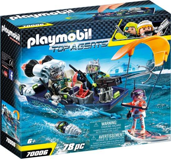 PLAYMOBIL TEAM S.H.A.R.K. Harpoenboot - 70006